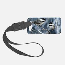 chickadee song bird Luggage Tag