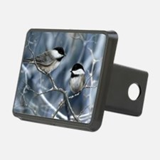 chickadee song bird Hitch Cover