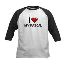 I Love My Rascal Baseball Jersey