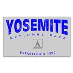 Yosemite National Park (Arch) Sticker (Rectangular