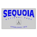 Sequoia National Park (Arch) Rectangle Sticker