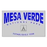 Mesa Verde National Park (Arch) Sticker (Rectangul
