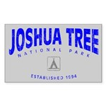 Joshua Tree National Park (Arch) Sticker (Rectangu