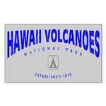 Hawaii Volcanoes National Park (Arch) Sticker (Rec