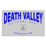 Death Valley National Park (Arch) Sticker (Rectang