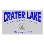 Crater Lake National Park (Arch) Sticker (Rectangu