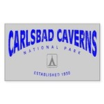 Carlsbad Caverns National Park (Arch) Sticker (Rec