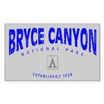 Bryce Canyon National Park (Arch) Sticker (Rectang