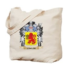 Lawler Coat of Arms - Family Crest Tote Bag