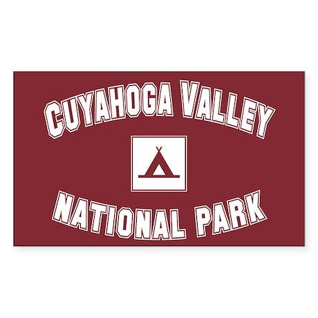 Cuyahoga Valley National Park Sticker (Rectangular