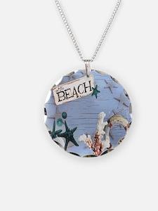 beach coral sea shells  Necklace