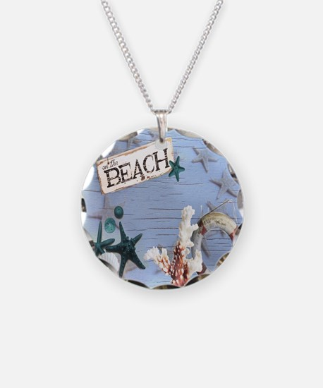 beach coral sea shells  Necklace