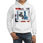 I Bike Hooded Sweatshirt