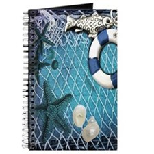 nautical fisherman sea shells Journal