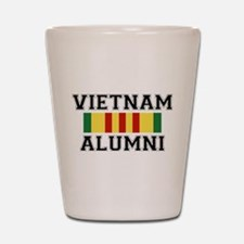 Vietnam Alumni Shot Glass