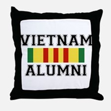 Vietnam Alumni Throw Pillow