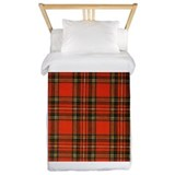 Red plaid Twin Duvet Covers