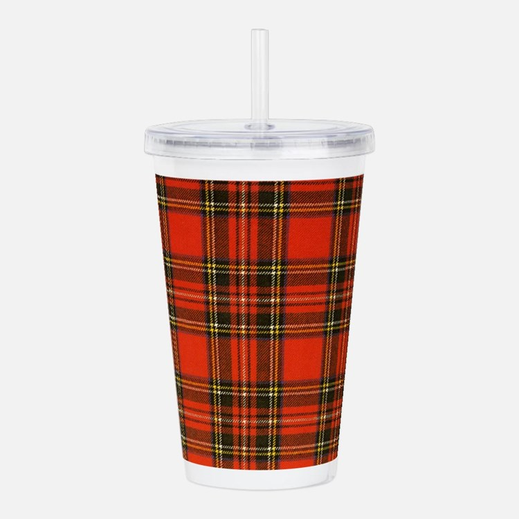royalstewartpiece.png Acrylic Double-wall Tumbler