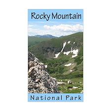 Rocky Mountain NP Vertical Rectangle Decal