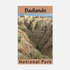Badlands NP (Vertical) Rectangle Decal