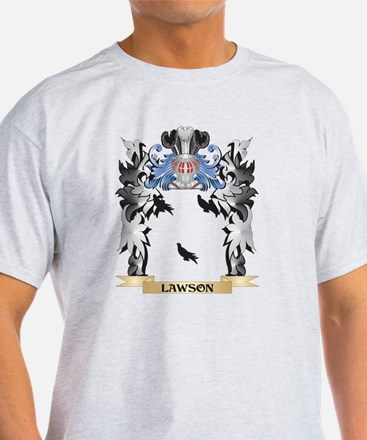Lawson Coat of Arms - Family Cr T-Shirt