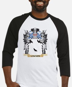 Lawson Coat of Arms - Family Crest Baseball Jersey