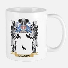 Lawson Coat of Arms - Family Crest Mugs