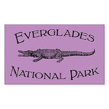 Everglades National Park (Crocodile) Decal