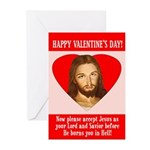 Valentine's Greeting Cards (Pk of 10)