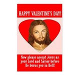 Valentine's Postcards (Package of 8)