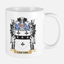 Lawton Coat of Arms - Family Crest Mugs