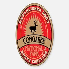 Congaree National Park Oval Decal