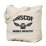 UNSCDF Mobile infantry Tote Bag