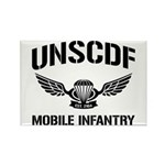 UNSCDF Mobile infantry Rectangle Magnet