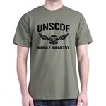 UNSCDF Mobile infantry Dark T-Shirt