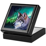 Wolf Keepsake Boxes