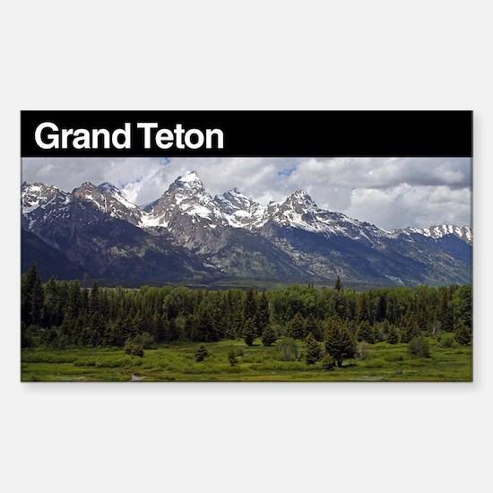 Grand Teton National Park Decal