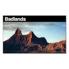 Badlands National Park Rectangle Decal