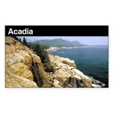 Acadia National Park Rectangle Bumper Stickers