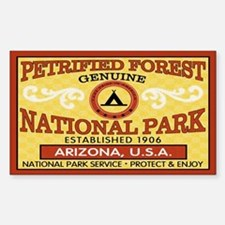 Petrified Forest National Park Sticker (Rectan.)