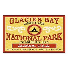 Glacier Bay National Park Rectangle Decal