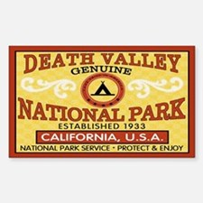 Death Valley National Park Rectangle Decal