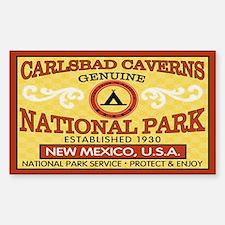Carlsbad Caverns National ParRectangle Decal