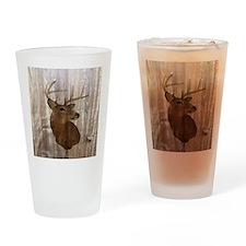rustic western country deer Drinking Glass