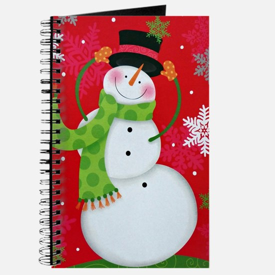 Happy Snowman Journal