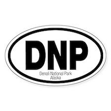 Denali National Park Oval Decal