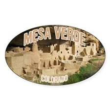 Mesa Verde National Park Oval Decal