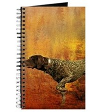 autumn hunting pointer dog Journal