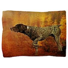 autumn hunting pointer dog Pillow Sham