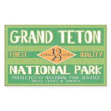 Grand Teton National Park (Retro) Decal